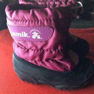 Kamik kids boots size 7